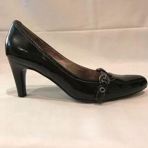 Ecco Black Patent Leather Pumps